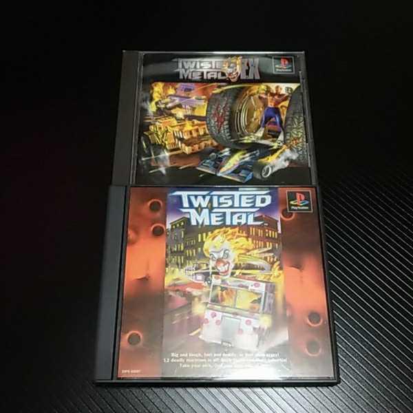 プレイステーション PSソフト PS1 ツイステッドメタル ツイステッド・メタル EX 洋ゲー レアゲー まとめ セット ※サンプル版