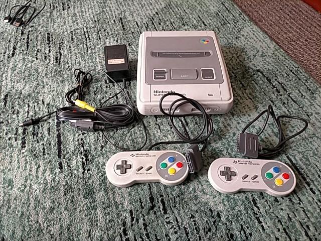 SFC 任天堂 スーパーファミコン 本体 付属品フルセット ゲーム機器 ヴィンテージ機器 スーファミ