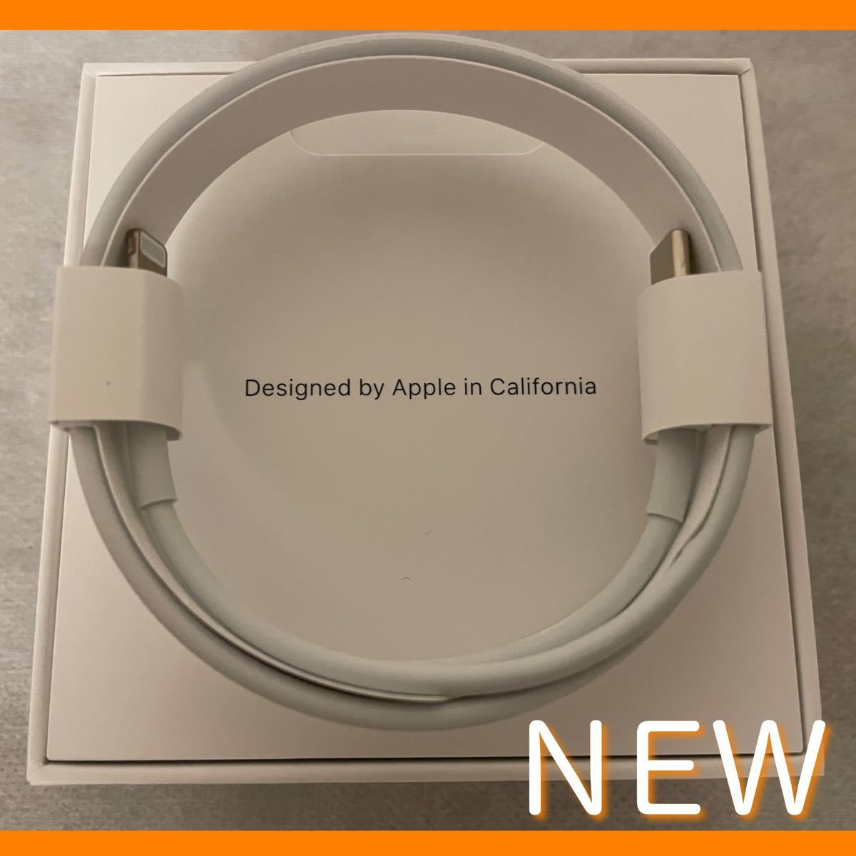 Apple純正 USB-C - Lightningケーブル(1 m)