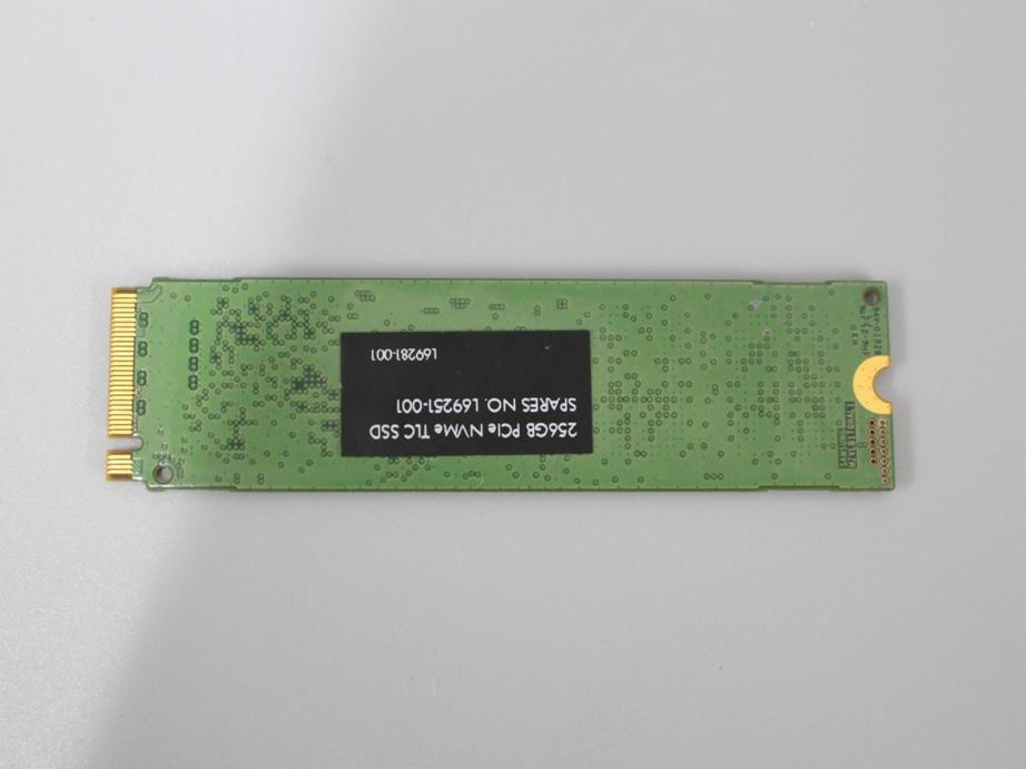 ●累計使用時間294H SAMSUNG MZ-VLB2560■SSD 256GB PCIe NVMe 動作確認済み