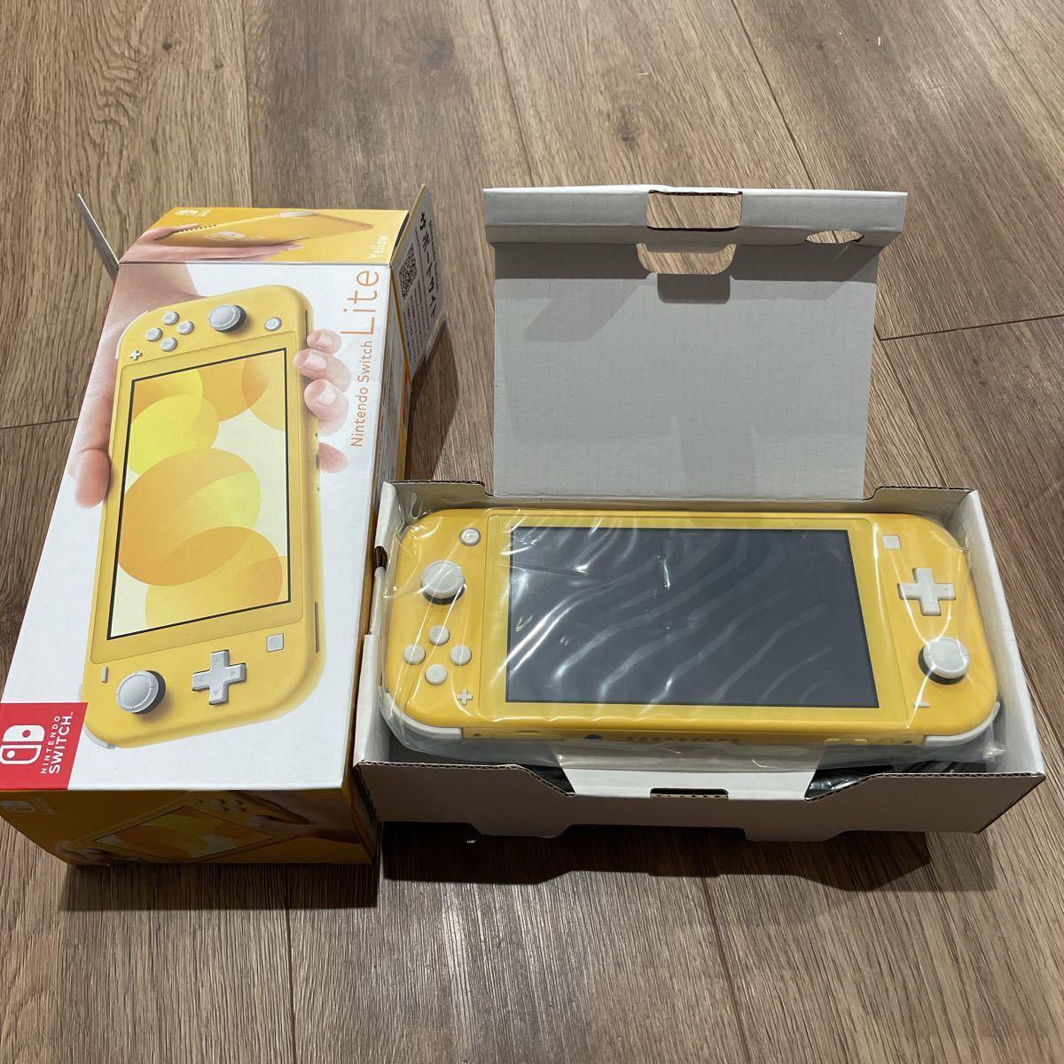 早い者勝ち Nintendo Switch lite  任天堂 ニンテンドー スイッチ ライト 本体 イエロー
