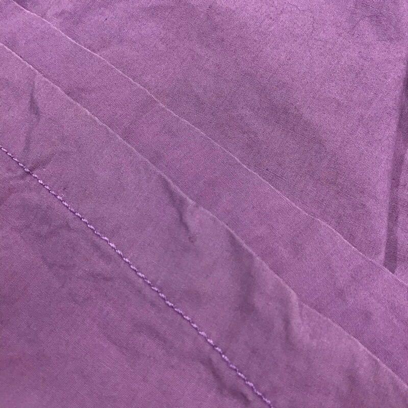 【タ029】niko and... ベルト付きスカート Mサイズ ピンクパープル ロング丈 タック入り コットン生地 ブランド古着 ニコアンド 送料無料