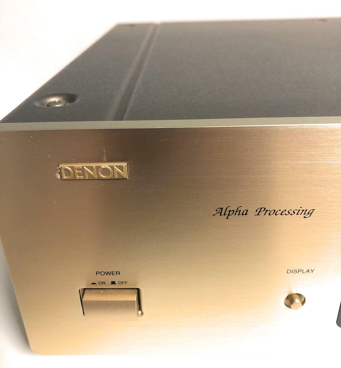 【稀少☆極上動作美品】銘機! DENON デノン DCD-1650AR CD プレーヤー CDデッキ 日本コロムビア デンオン _画像3
