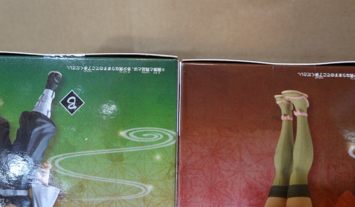 ♪未開封 バンダイ 鬼滅の刃 フィギュア -絆ノ装- 拾肆ノ型 不死川実弥 甘露寺蜜璃[セピアカラー] 2種セット(GJ106295/GJ106296)_画像4