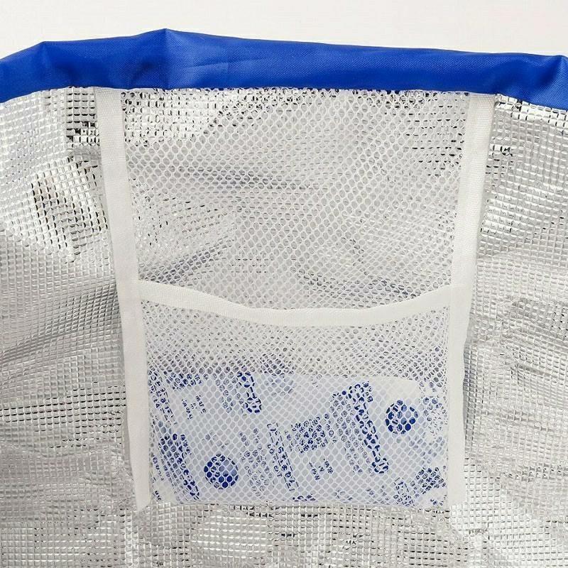 ムーミン レジカゴバッグ 保冷バッグ エコバッグ  トートバッグ 大容量 北欧柄