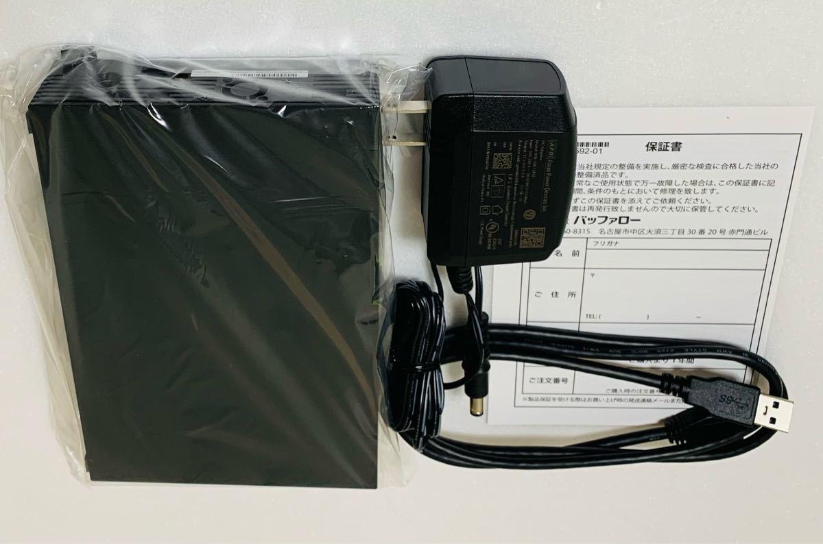 【6TB・30日保証】バッファローの最新モデル★USB3.2外付けHD★HD-EDS6U3-BC★Win/Mac/テレビ録画PS4