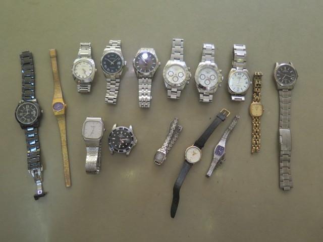 1円~△#TECHNOS テクノス 腕時計 いろいろまとめて 計15点