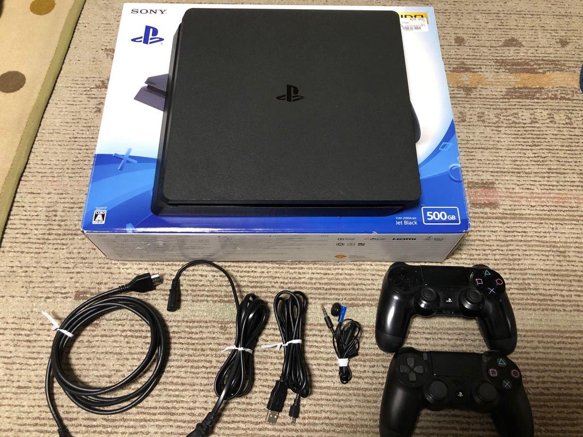 PlayStation4 本体 500GB CUH-2100 【コントローラー2つ】