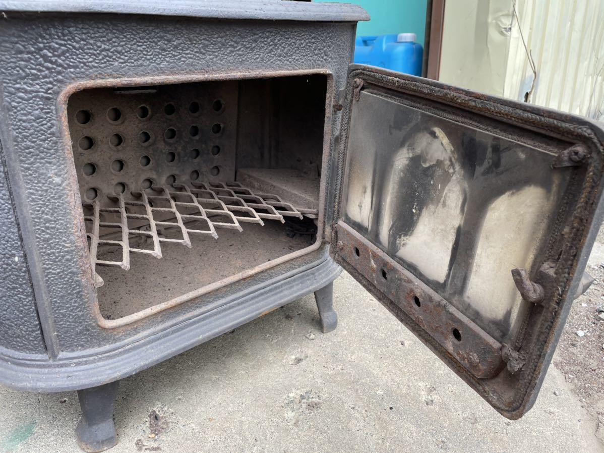 札幌発 引き取り限定 ホンマ製作所 薪ストーブ 鋳物ストーブ_画像3