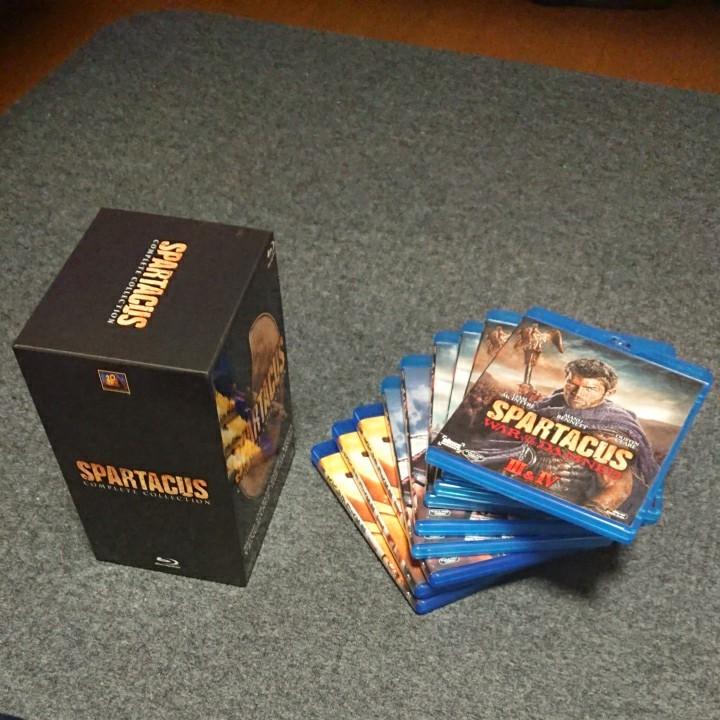 SPARTACUS スパルタカス コンプリート ブルーレイBOX [Blu-ray Disc]