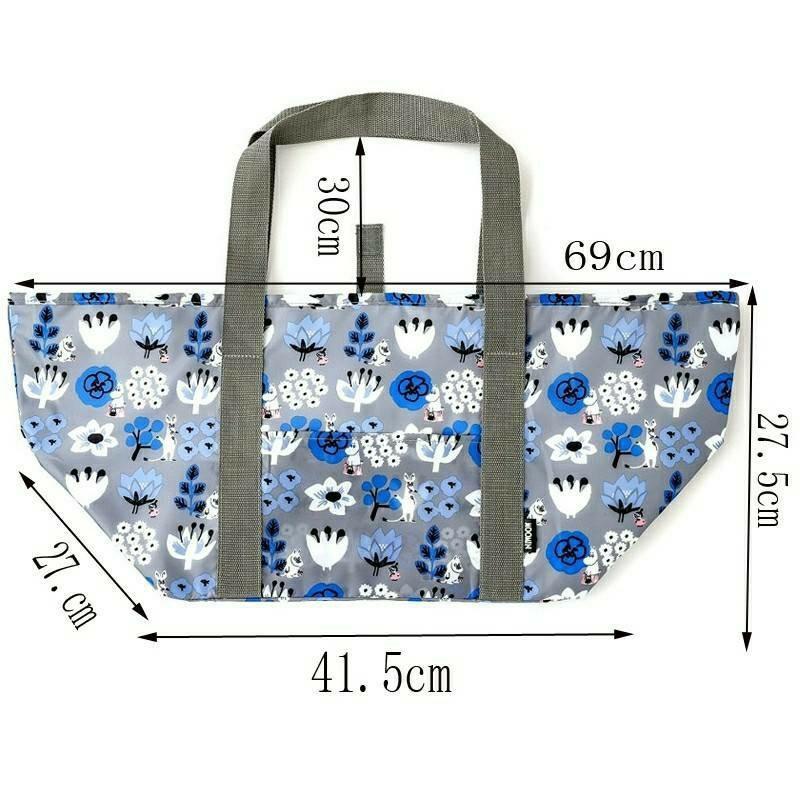 ムーミン レジカゴバッグ 保冷バッグ トートバッグ エコバッグ 肩掛け 大容量
