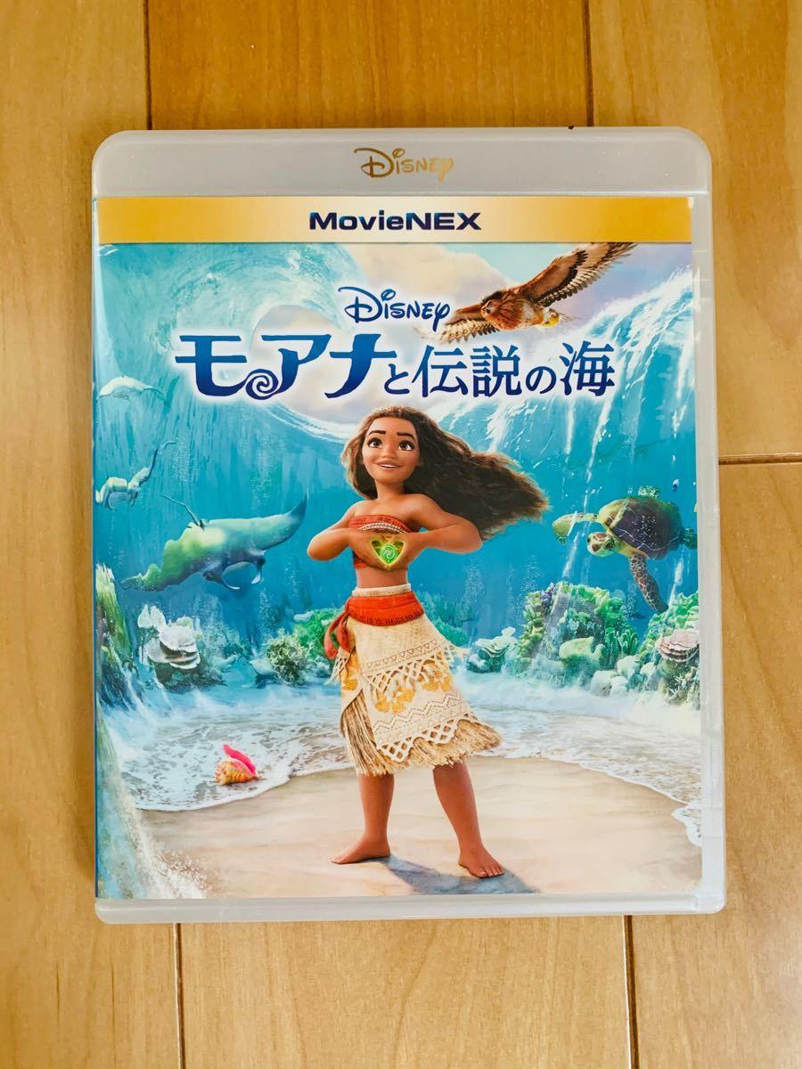 モアナと伝説の海 ブルーレイ+純正ケース【国内正規版】新品未再生 MovieNEX ディズニー Disney