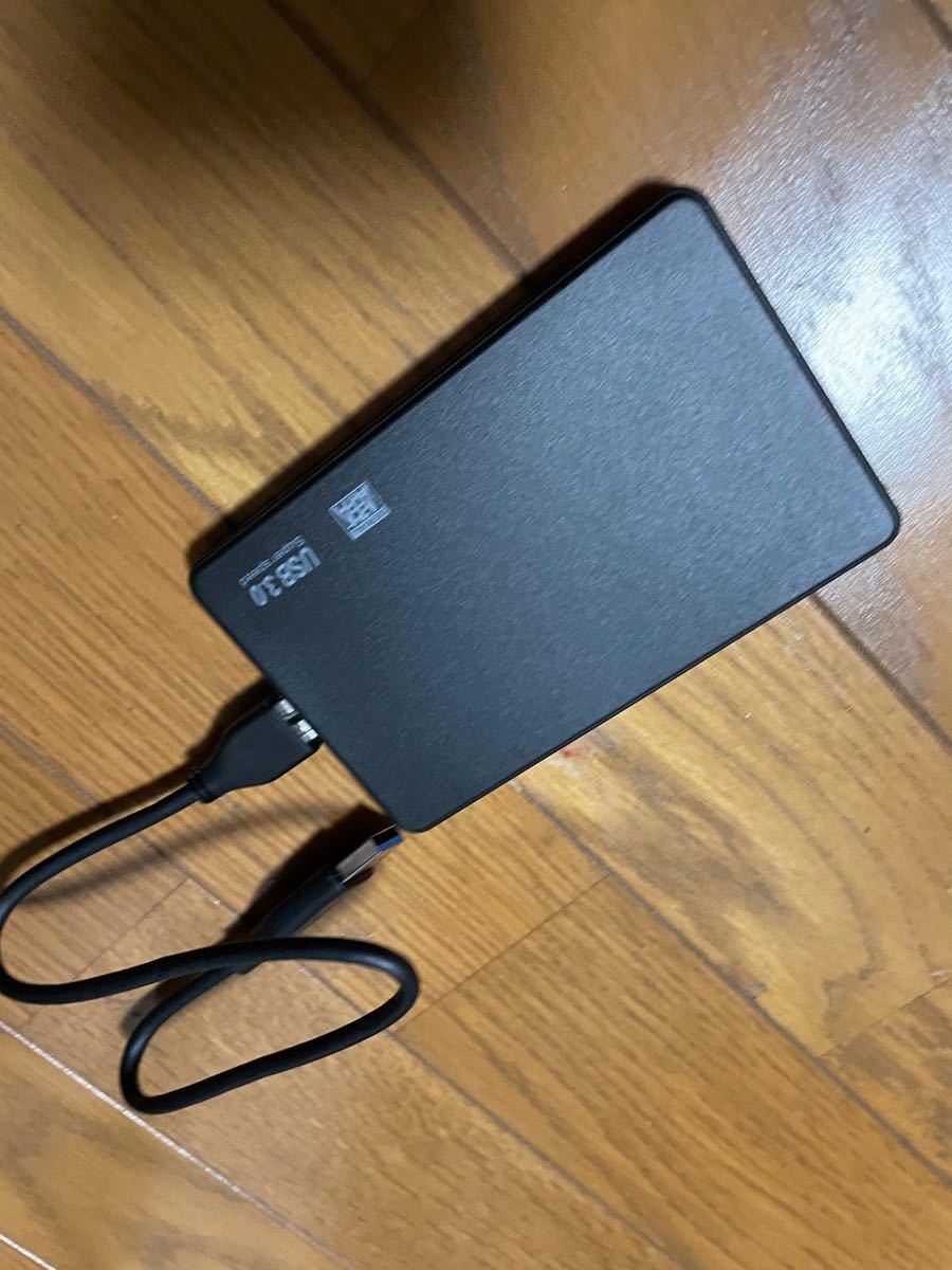外付けハードディスクUSB3.0 ポータブルHDD320GB