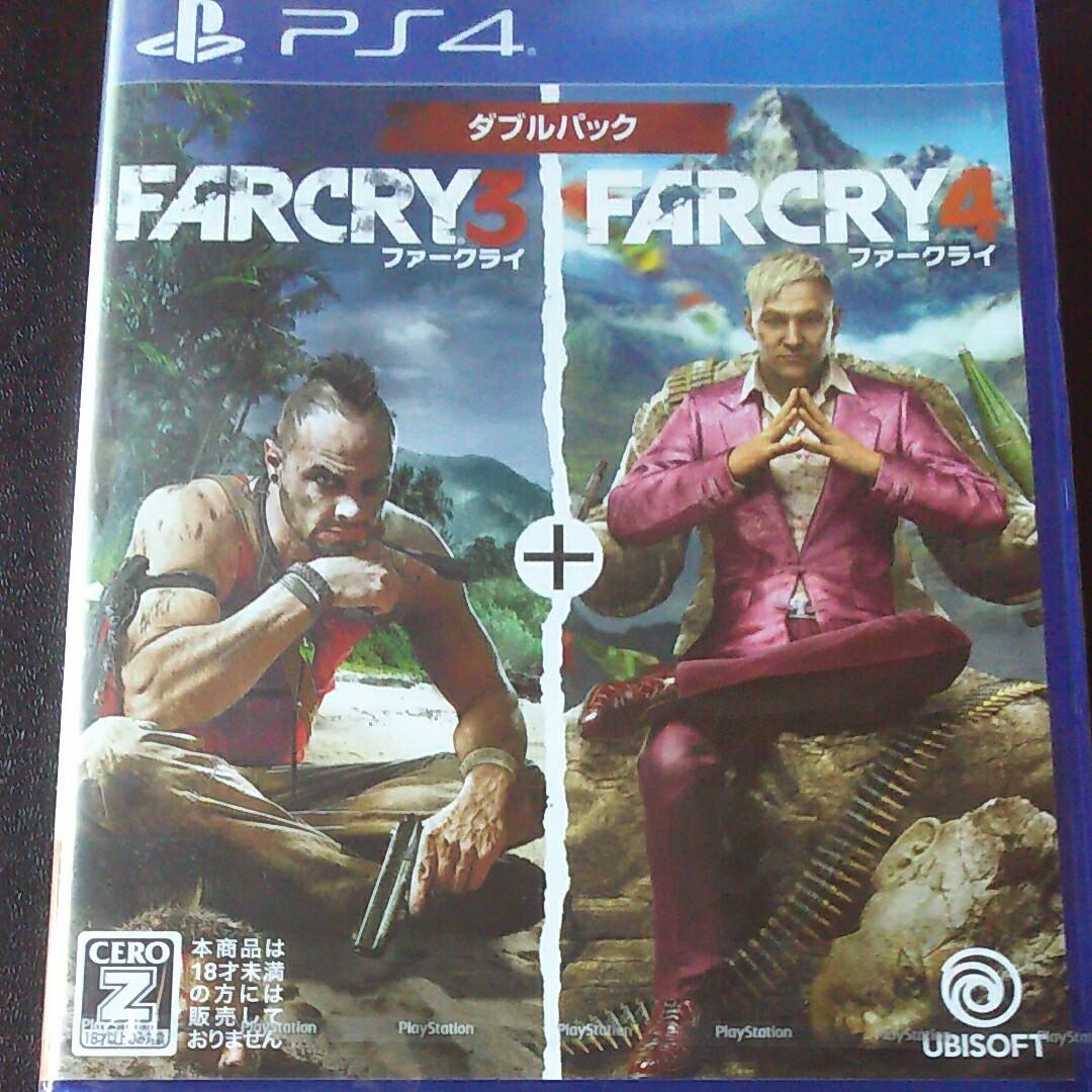 【PS4】 FarCry3+4 ダブルパック