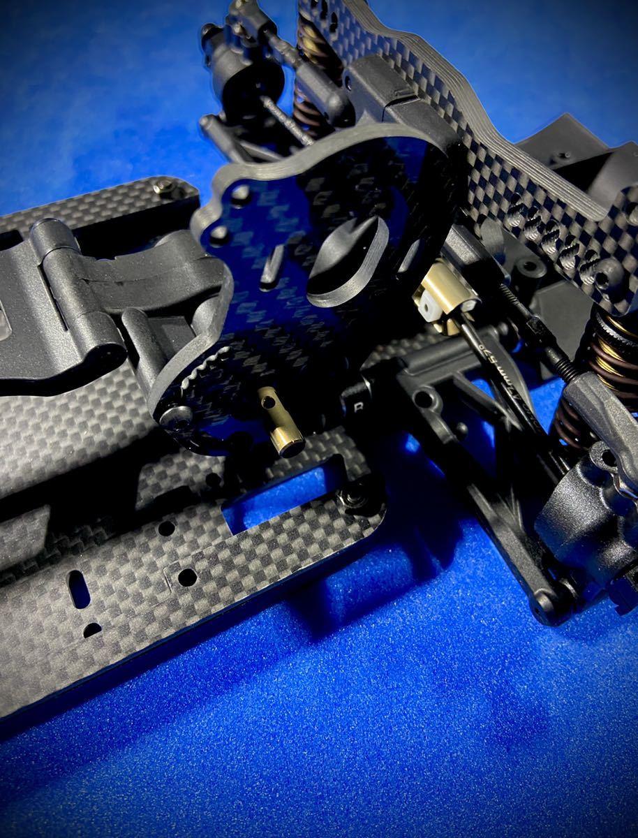 ヨコモYD-2S用 カーボン製軽量モーターマウントプレート 蕨山Carbon