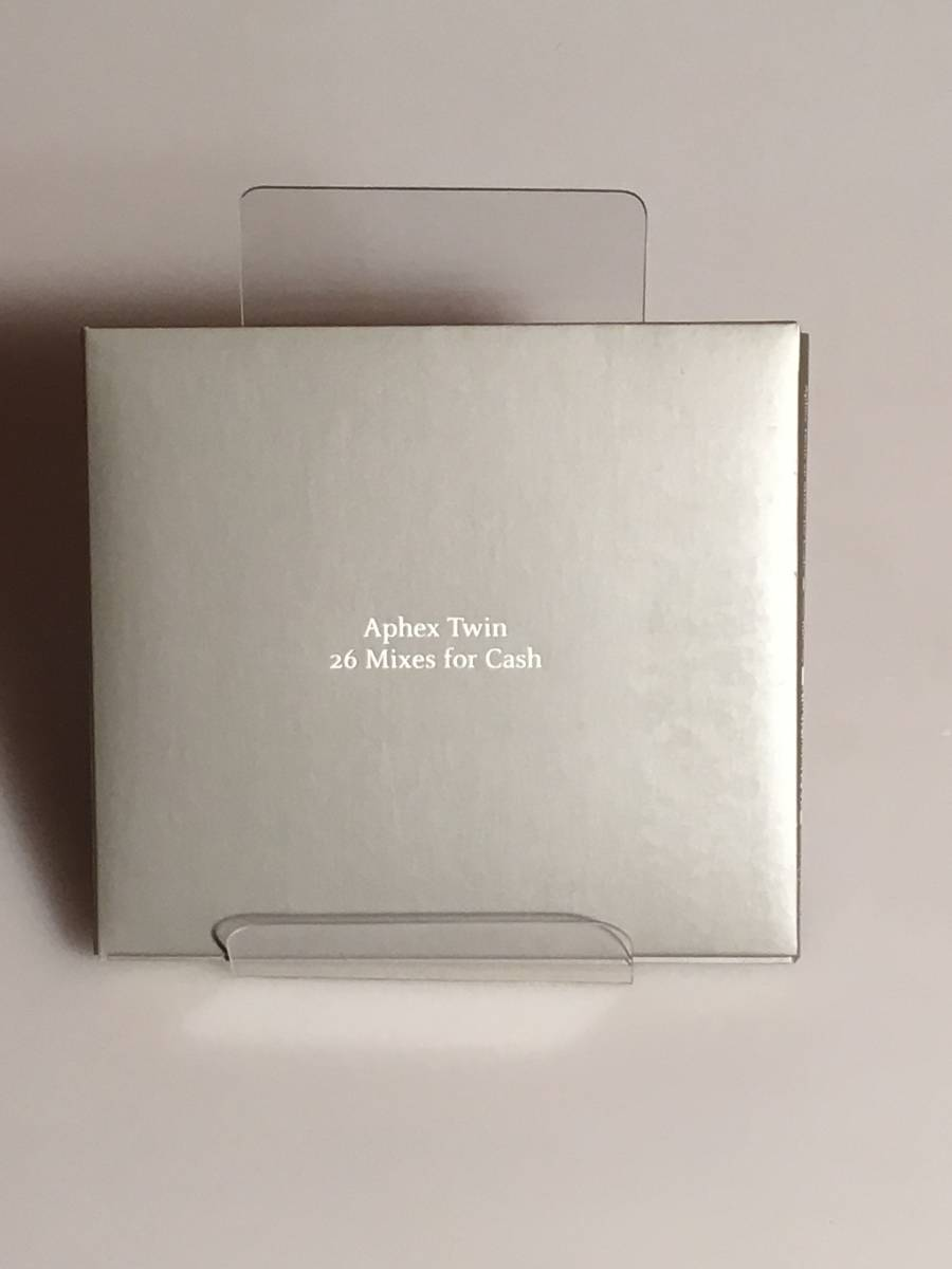 Aphex Twin「26 Mixes for Cash」日本盤