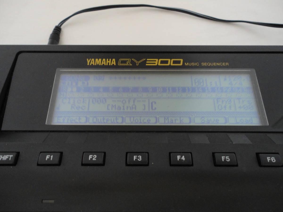 YAMAHA ヤマハ MUSIC SEQUENCER ミュージックシーケンサー QY300 説明書_画像4