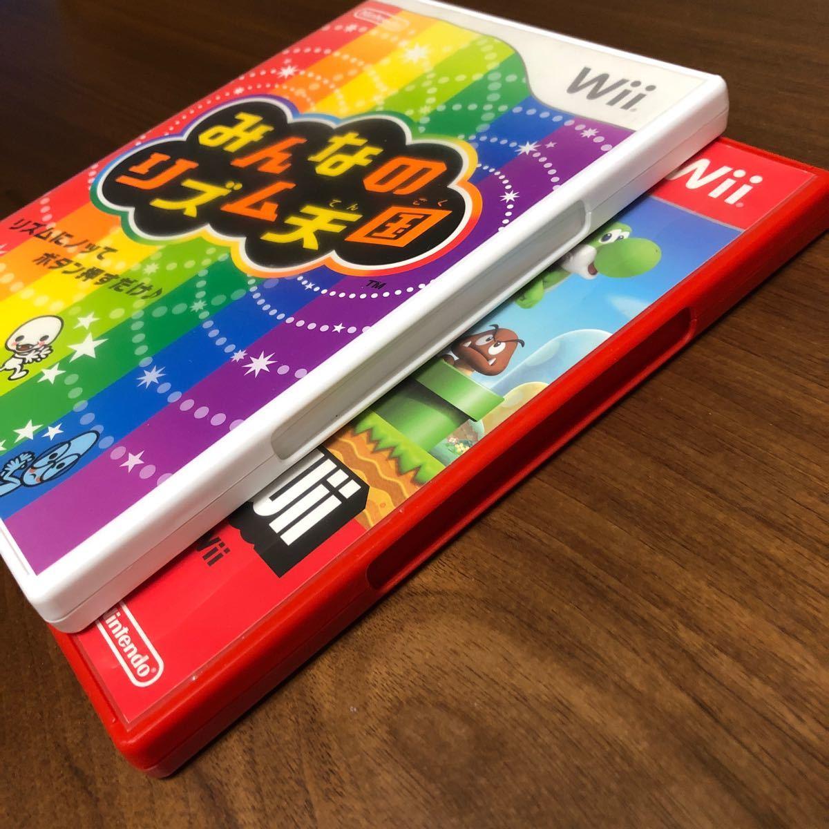 【Wii】 みんなのリズム天国 スーパーマリオブラザーズ
