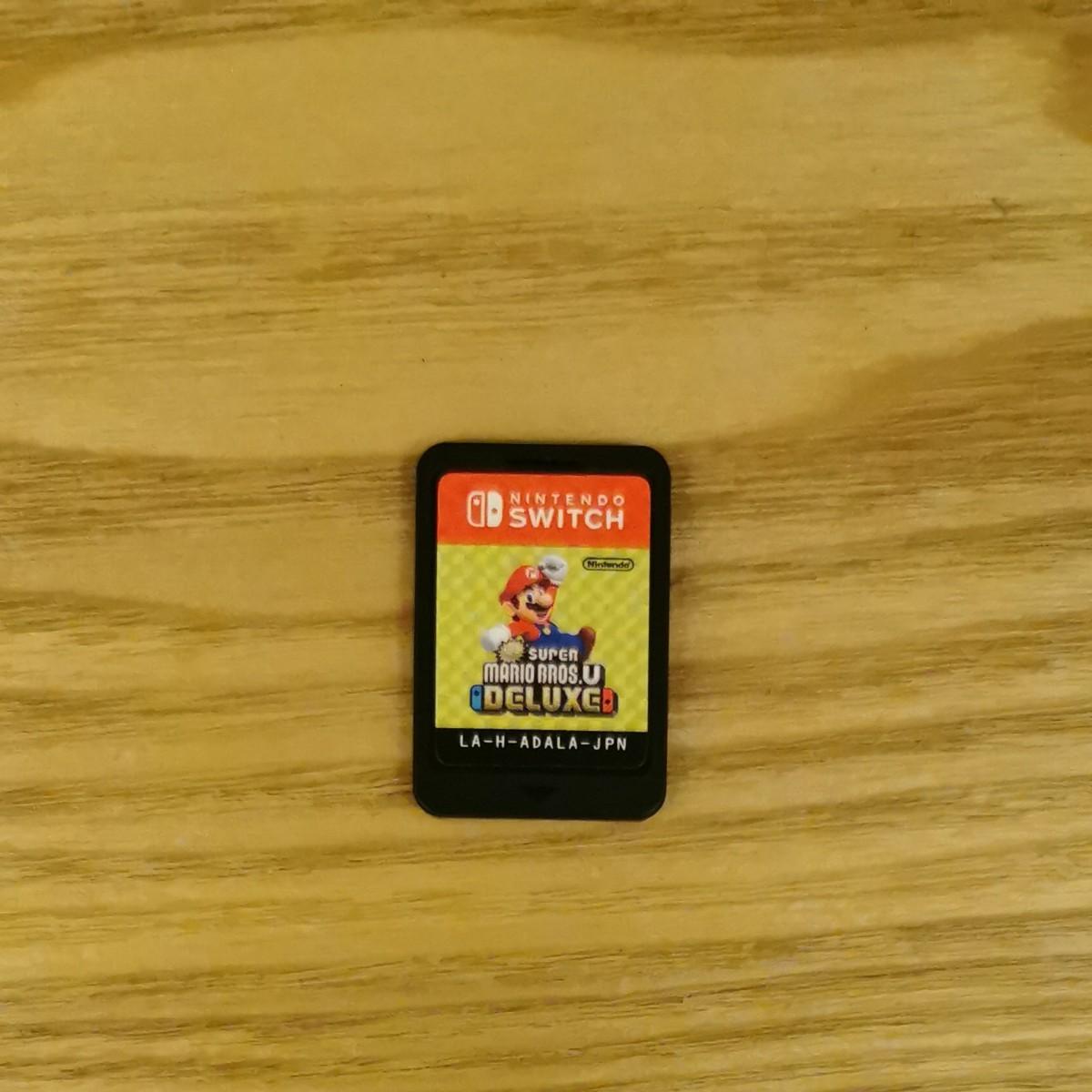 Nintendo Switch スーパーマリオブラザーズU デラックス