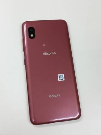 送料無料 新品同様 SIMロック解除済(SIMフリー) docomo Galaxy A21 SC-42A Red 赤_画像3