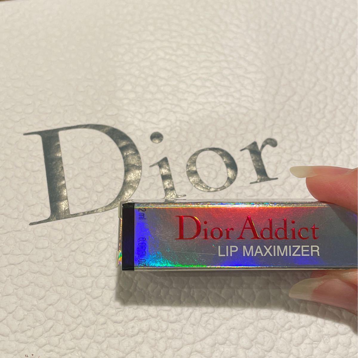 Dior ミニ マキシマイザー リップグロス ディオールアディクトリップ