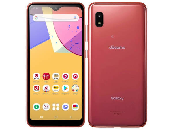 8.台数限定 送料無料 新品同様 SIMロック解除済(SIMフリー) docomo Galaxy A21 SC-42A Red 美品_画像1