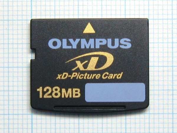 *OLYMPUS xD Picture card 128MB used * postage 63 jpy ~
