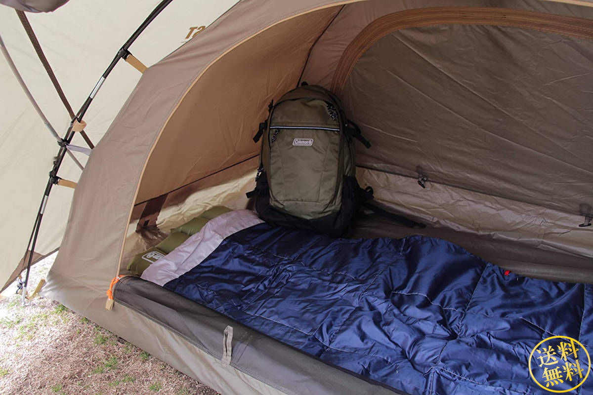 【背の高い前室あり】 オリーブカラー ツーリング ドームテント アウトドア キャンプ 旅行 1人用 ソロ コンパクト 簡単設営 コールマン