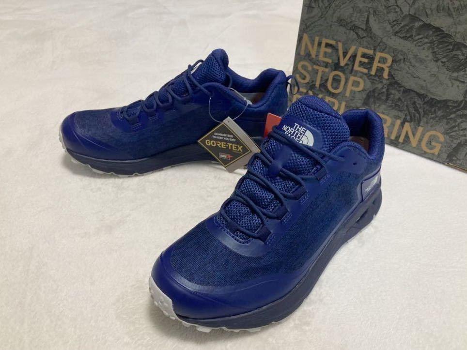 新品正規品 GORE-TEX 27.0cm THE NORTH FACE Shaved Hiker ノースフェイス ゴアテックス トレッキングシューズ 登山靴 トレイル NF51931-FT