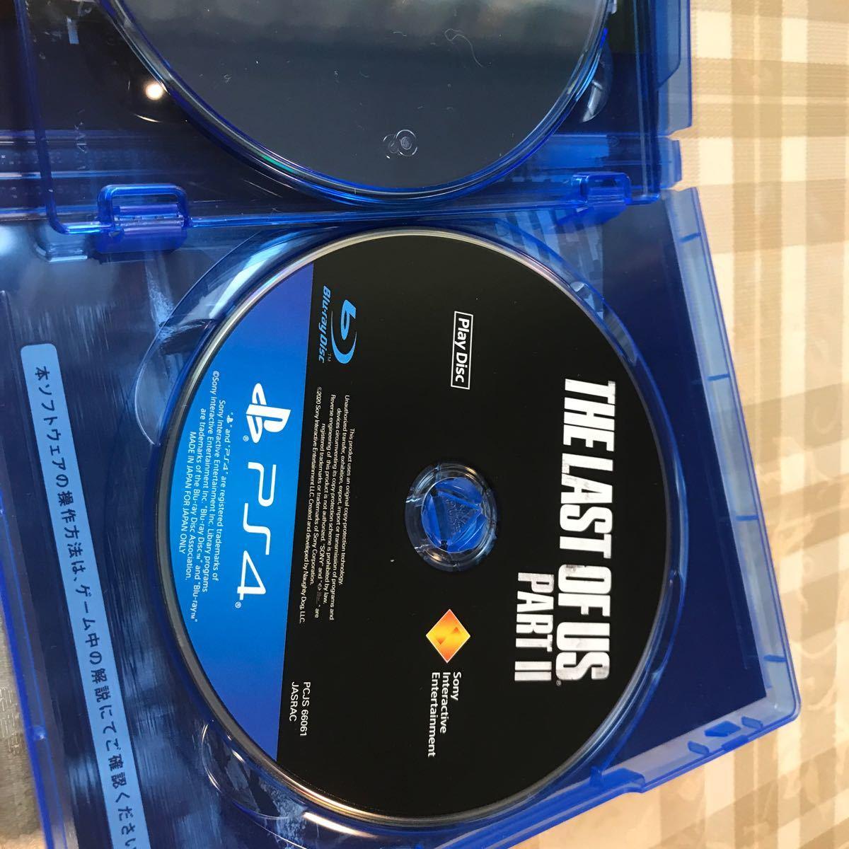 【PS4】 The Last of Us Part II プロダクトコード未使用