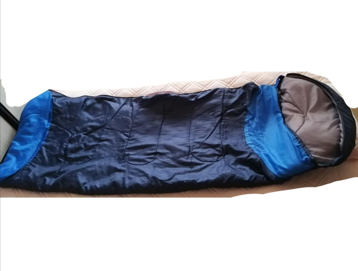 封筒型 寝袋 シュラフ 洗える キャンプ アウトドア 避難用 中古