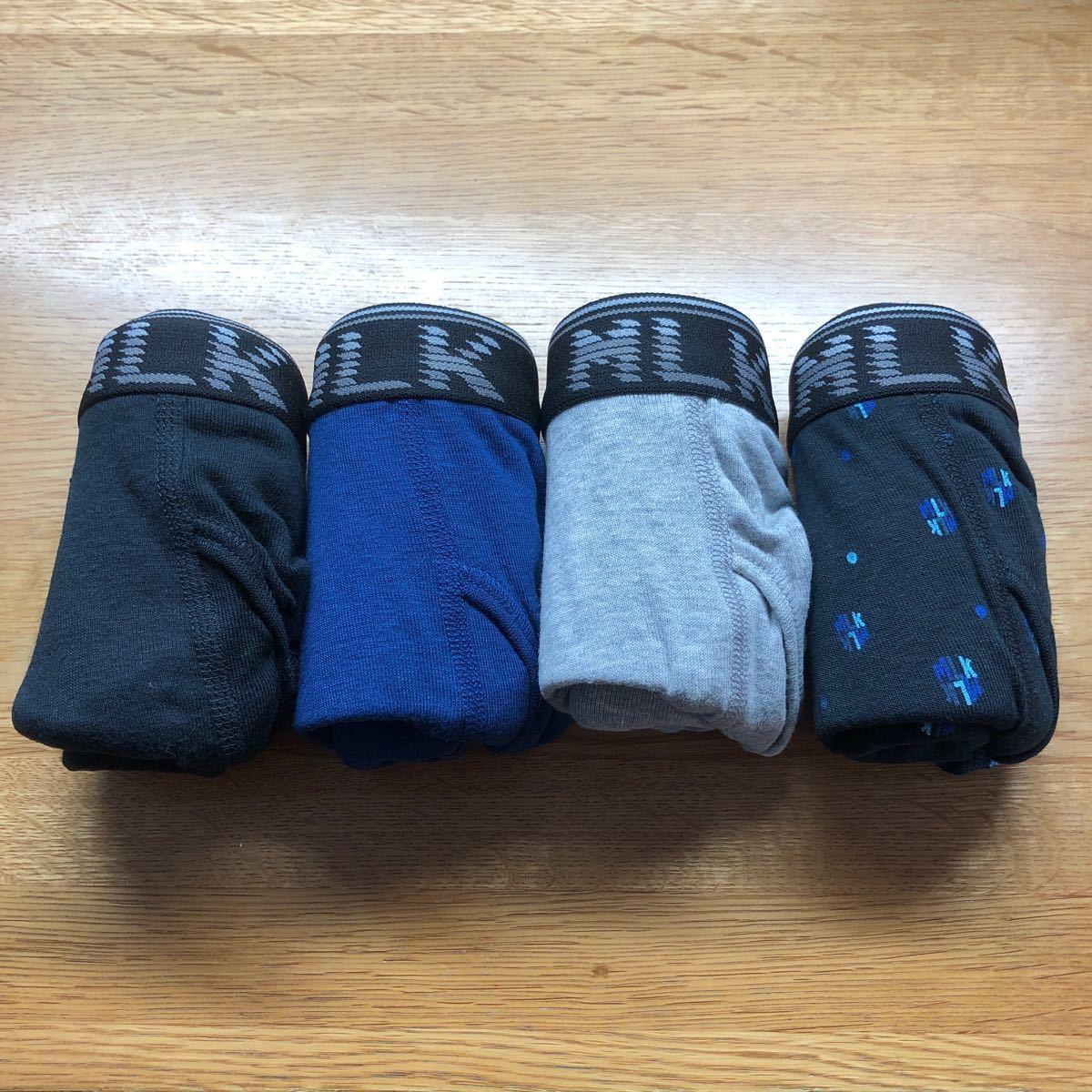 メンズボクサーパンツ ボクサーブリーフ ボクサーパンツ ミチコロンドン Mサイズ4枚組 新品未使用【2】