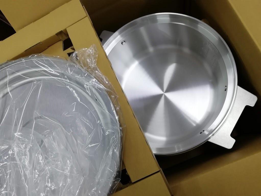 ●開封済み未使用品 リンナイ 業務用ガス炊飯器 RR-300C 3升炊(6L) 都市ガス(12A/13A)用ご来店引取りも歓迎●_画像5
