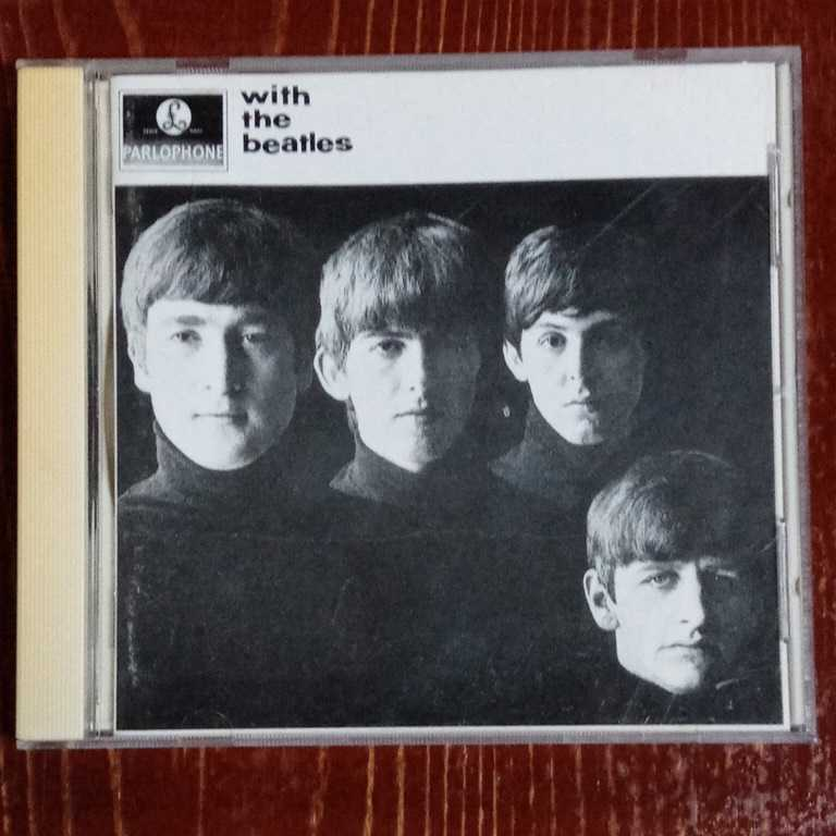 THE BEATLES WITH THE BEATLES ウィズ・ザ・ビートルズ ザ・ビートルズ CD 中古 _画像1