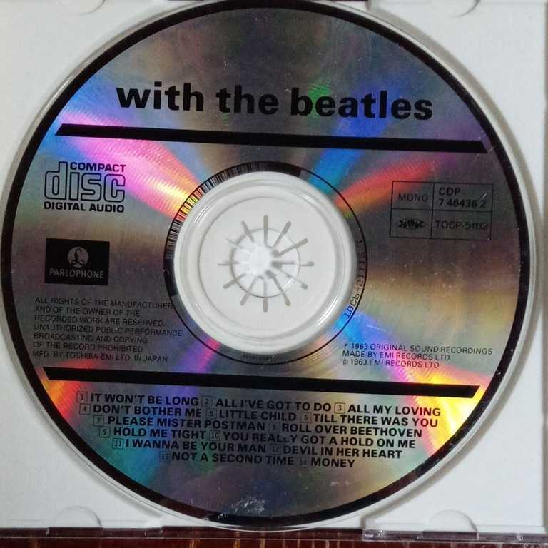 THE BEATLES WITH THE BEATLES ウィズ・ザ・ビートルズ ザ・ビートルズ CD 中古 _画像4