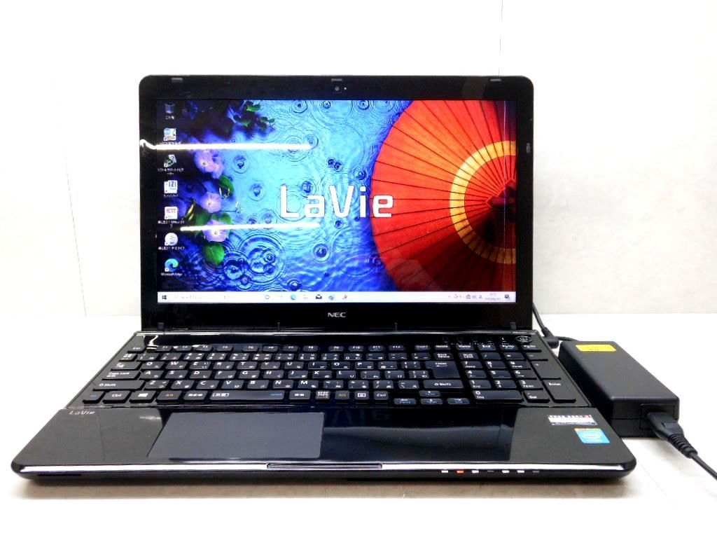 ☆NEC☆LaVie☆LS150/MSB-KS☆Celeron 1000M 1.80GHz/4GB/750GB/Sマルチ/無線/カメラ/Windows 10 Home☆Windows 8 DtoD領域/難有り☆1円☆