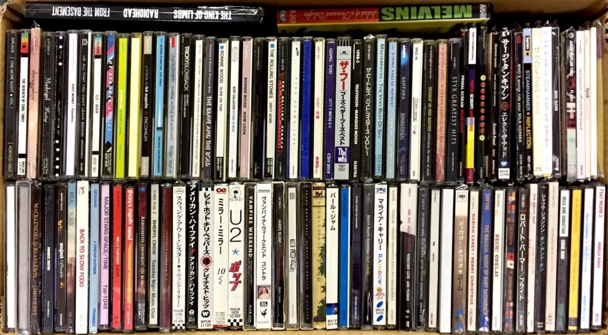 ◎1円スタート!ロック・ポップス全般 中古CD100枚まとめ買いセット YES BEATLES SKY THE WHO GONG TELEVISION VAMPIRE WEEKEND R