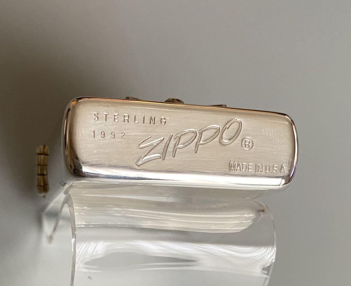 ZIPPO 1992年 マルボロ スターリングシルバー_画像7