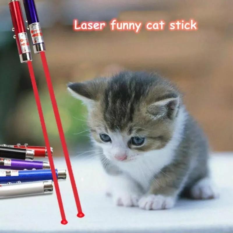 猫じゃらし 猫おもちゃ LEDライト 電池付き
