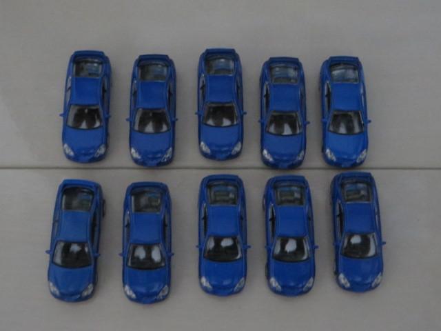 ホンダ インテグラ INTEGRA TYPE R DC5 10個 スーパーリアルミニカーコレクション 解説書10枚あり_画像2