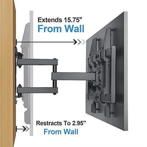 お待ち堂様 RENTLIV テレビ壁掛け金具 大型 37-70インチ対応 アーム式 耐荷重60kg LCD LED 液晶テレビ用 前後&左右&上下多角度調節可能_画像5