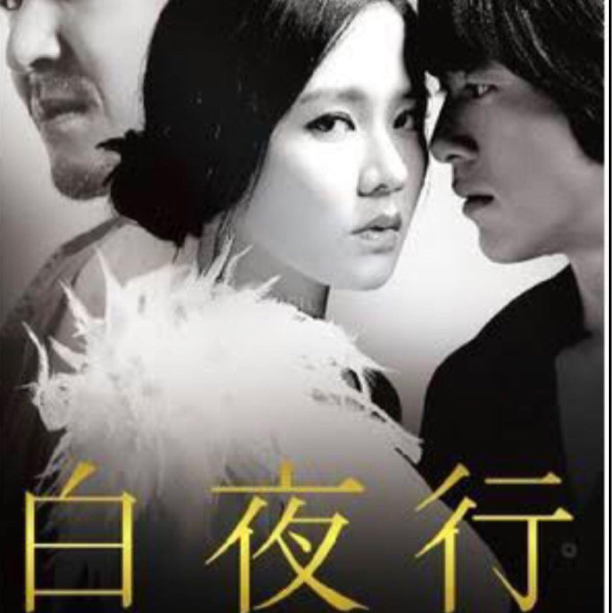 韓国映画  白夜行  ソン・イェジン  コ・ス  ハン・ソッキュ  DVD  日本語吹替有り  レーベル有り
