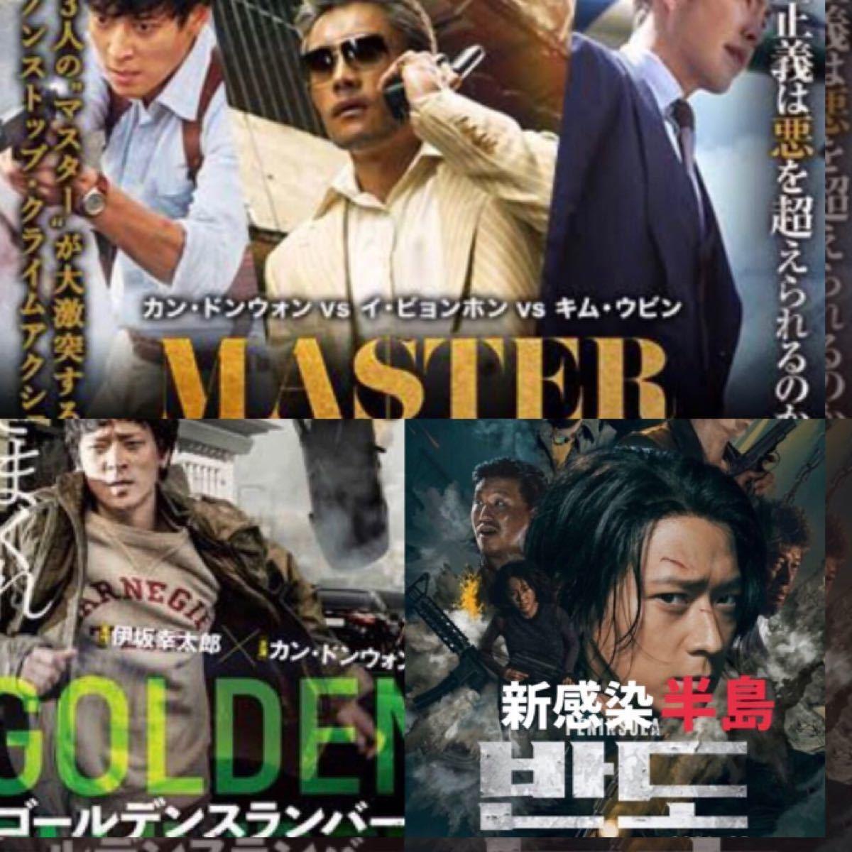 韓国映画  カン・ドンウォン  出演映画  DVD  日本語吹替有り  レーベル有り