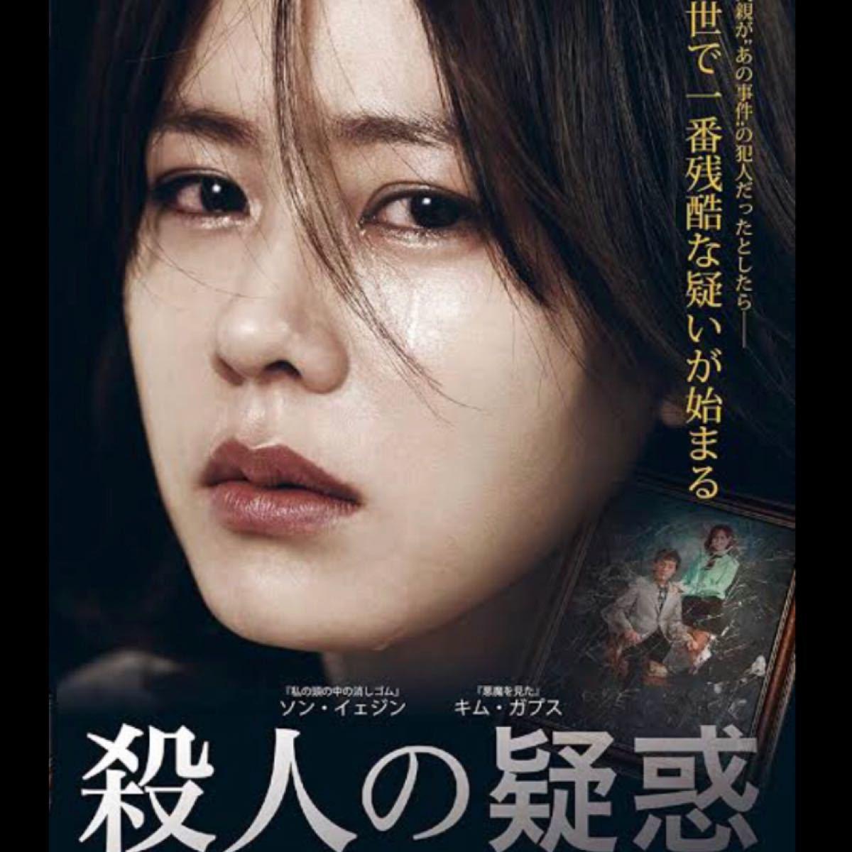 韓国映画  殺人の疑惑  ソン・イェジン  キム・ガプス  DVD  レーベル有り