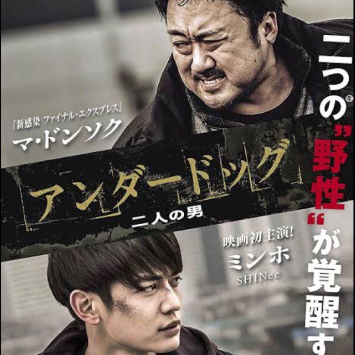 韓国映画  アンダードッグ  二人の男  マ・ドンソク  DVD  レーベル有り