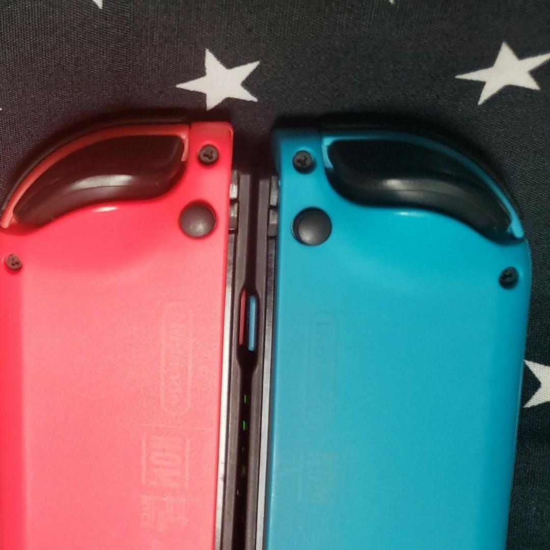 Nintendo Switch ジョイコン Joy-Con (L)(R) 左右セット ネオンブルー ネオンレッド【送料無料】