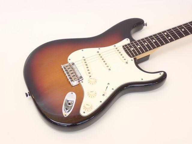 【美品】Fender USA フェンダー American Standard Stratocaster 3TS 2012年製 ストラトキャスター サンバースト ハードケース付 □607DB-2