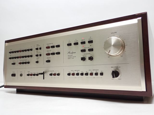 Accuphase KENSONIC C-240 アキュフェーズ ケンソニック コントロールアンプ プリアンプ ♪ 607F5-2