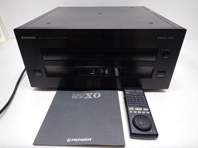 Pioneer HLD-X0 パイオニア LDプレーヤー レーザーディスクプレーヤー リモコン/説明書付 動作品 ♪ 608BE-2