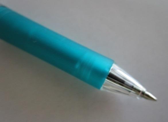 ☆ BK127-D/グリーン(0.7/細字)×2本×倍の4本セット ぺんてる ボールペン【未使用/筆記チェック済み】端数ポイント交換_画像5